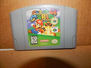 Lot Of Nintendo Super Mario and Diddy Kong Racing Gams Paks