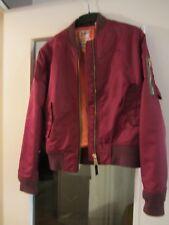 Veste manteau Blouson Bombers femme Schott & American College JKTACW T L TBE