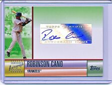 ROBINSON CANO 2006 TOPPS SERIES 2 AUTHENTIC AUTOGRAPH AUTO #TA-RC (YANKEES)