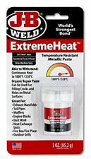 New listing Jb Weld Extreme Heat Pasta metálica resistente a la temperatura Reparación de.