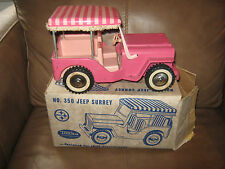 Tonka Pink Surrey Jeep with Box