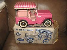 Tonka Pink Surrey Jeep with Box