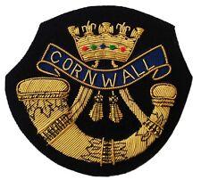 Duke of Cornwall's Light Infantry, Blazer Badge Wire Bullion, LI-EMB-0002