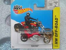 HOT WHEELS 2014 #128/250 blastous Rosso 3 RUOTE BICI HW OFF-ROAD