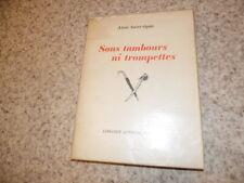 1946.Sans tambours ni trompettes.Alain saint-Ogan (envoi)