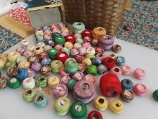 Vintage Tatting Thread 90 plus Star J P Coats Variegated Embroidery Crochet