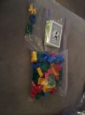 MONOPOLY JUNIOR AMUSEMENT PARK REPLACEMENT PARTS MONEY TICKET BOOTHS & MORE