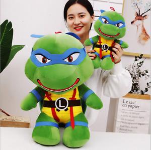 Q Ver. Teenage Mutant Ninja Turtles Leonardo Plush Doll Puppet Pillow In Stock