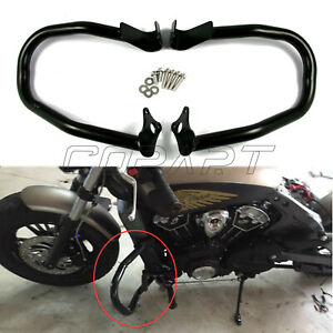 """1.25"""" Heavy Duty Engine Guard Crash Bar For Indian Scout Sixty Bobber 2016-2018"""