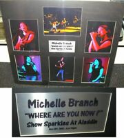 Michelle Branch Unsigned Multi 8X10'S Matted 27X31