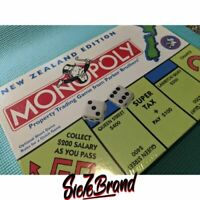 VERY RARE MONOPOLY New Zealand Edition New TOKEN Introduced Brand New sealed
