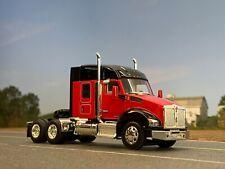 "1/64 DCP RED/BLACK KENWORTH T880 W/ 52"" SLEEPER"