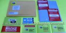 Straight Talk AT&T Nano SIM Activation Kit Fast  Shipping Tracking # Great Deal
