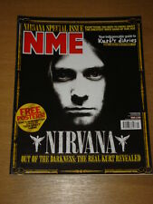 NME 2002 NOV 9 NIRVANA KURT COBAIN OASIS COLDPLAY