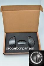 2007-2013 MINI COOPER R55-R59 Coupe JCW Carbon Fiber Interior Door Trim