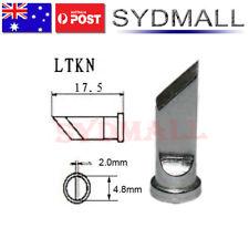 LTKN Solder Soldering Station Iron Tip Lead Free FOR Weller WSP80 WSD81 Knife OZ