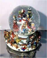 Kirkland Signature Musical Christmas Water Globe With Revolving Base For Parts
