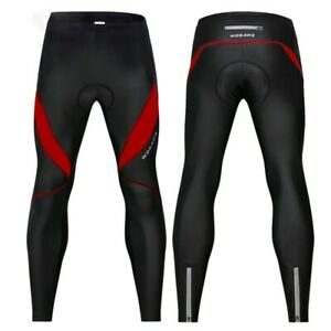 Sports Cycling Pants Unisex WOSAWE Winter Fitness Legging M -XXXL Bike