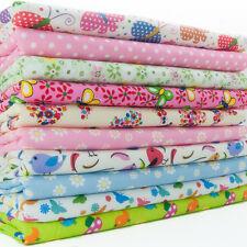 Fabric Bundle Fat Quarters - Kids/Nursery - Butterflies & Birds - Craft Material