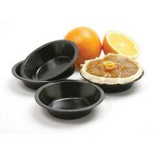 """Norpro 5"""" Mini Pie Pans 4 Set Nonstick Quiche Fruit Tart Pot Shortcake #3911"""