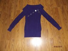 GUESS Sweater Size: Small Purple in color WORN ONCE! PERFECT Condition! CUTE!