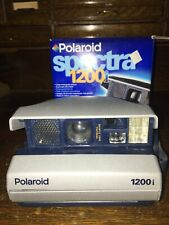 Used Polaroid Spectra 1200i Instant Film Camera Auto Flash Focus Box Manual