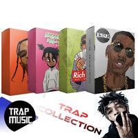 TRAP - Collection of WAV Samples, Loop Packs, Melody Packs, Midi, FL STUDIO