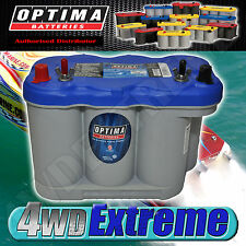 OPTIMA D27M BLUE TOP BATTERY 12 VOLT AGM D27M 800CCA DEEP CYCLE MARINE DUAL BOAT