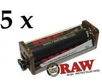 5 pcs RAW Dark Rolling Paper Machine 70mm Standar Size (2 WayRoller) *Authentic*