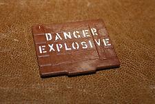 Playmobil western couvercle de caisse danger explosive 5250 5245 5246 5608