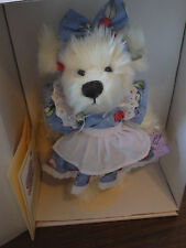 Annette Funicello Mary Beth Ivory Plush Bear #340 of 4000! Kitchen Collection