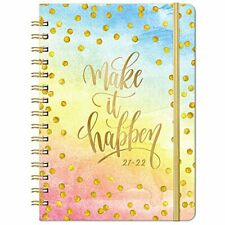 2021 2022 Planner Weekly Amp Monthly Planner With Monthly Tabs Jul 2021 Yellow