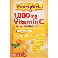 Emergen-C Vitamin C Drink Mix Packets Tangerine 30 packets EXP. 5/2017 (I14)