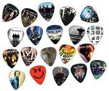 Bon Jovi 20 X Platine Médiators Collection - Coût to Transparent