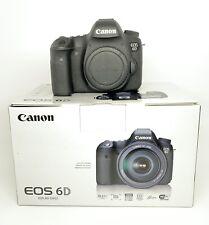 Canon EOS 6D 20.2MP Digital SLR Camera - Black (Body Only)-Risk Free Guaranteed!