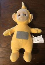 Vintage LALA Yellow Teletubby 13 In Plush Talking Stuffed Animal Teletubbies Toy