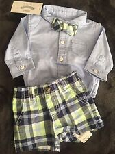 Gymboree Baby Boy 0-3m Dressed Up 3 Piece Set NWT Free Shipping