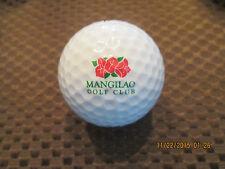 Logo Golf Ball-Mangilao Golf Club.Guam.Rare