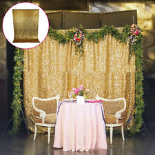 Sequin Curtain Photo Backdrop Booth Wall Wedding Background Party Birthday