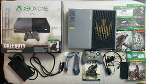 Xbox One Call Of Duty Advance Warfare Limited Edition Console & Game Lot!!!