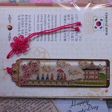 Korean Traditional Palace Metal Bookmark  FreeShipping
