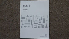 Bang & Olufsen   B&O DVD 2 User Guide.
