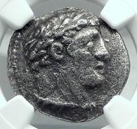 TYRE Half SHEKEL BIBLICAL Silver Jewish Temple Tax Ancient Greek Coin NGC i77872