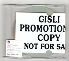 (IE212) Gisli, How About That? - 2004 unopened DJ CD