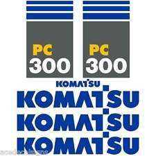 PC300-7 Decals PC300-7 Stickers Komatsu Decals Komatsu Stickers- New Decal Kit