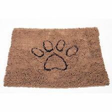 New Dog Gone Smart Medium Dirty Doormat Brown Rich Rug Sale Door Mat Microfiber