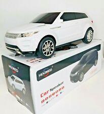 HOOKED Portable BT LARGE Car Speaker,Wireless Speaker,CAR-389BT White Color