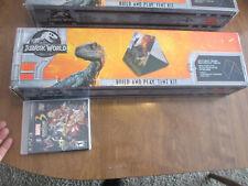 New Jurassic World Fallen Kingdom Build And Play Tent Kit VELOCIRAPTOR BLUE PARK