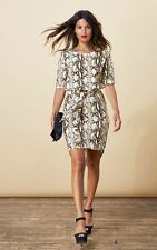 Unbranded Animal Print Short Sleeve Casual Dresses for Women