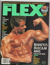 FLEX bodybuilding muscle magazine/FRANCIS BENFATTO 6-91